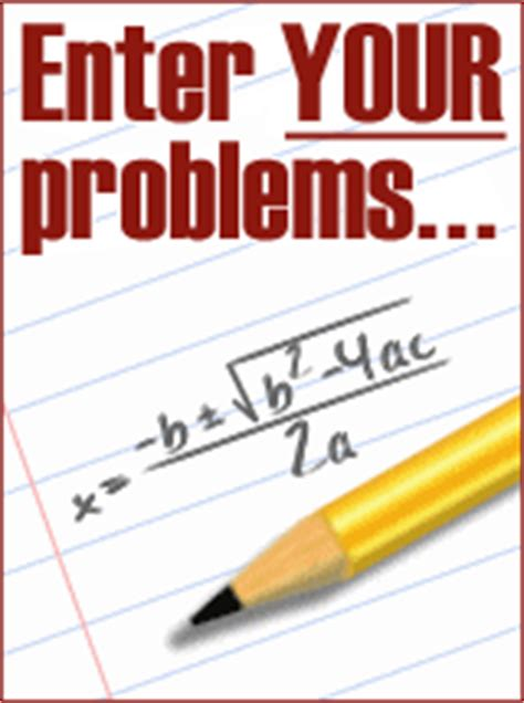 Do my algebra homework free online